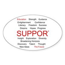 Support Education, Support the Future Decal