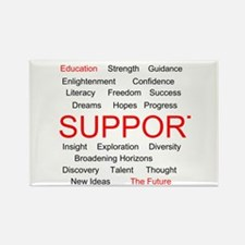 Support Education, Support the Future Rectangle Ma
