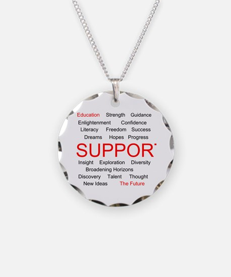 Support Education, Support the Future Necklace