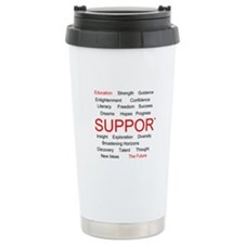 Support Education, Support the Future Travel Mug
