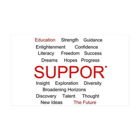 Support Education, Support the Future 38.5 x 24.5