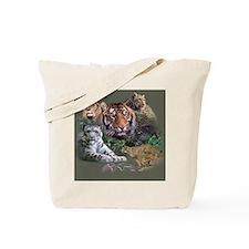Cute Big cat Tote Bag