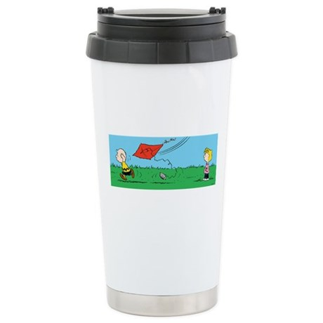 Kite Flight Failure Stainless Steel Travel Mug