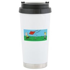 Kite Flight Failure Travel Coffee Mug