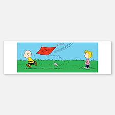 Kite Flight Failure Bumper Bumper Sticker