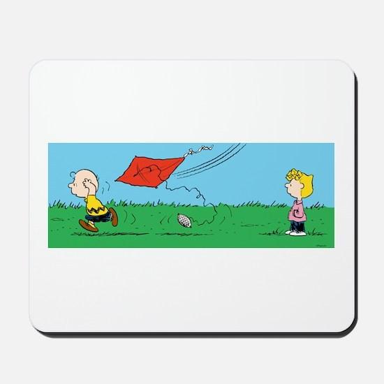 Kite Flight Failure Mousepad