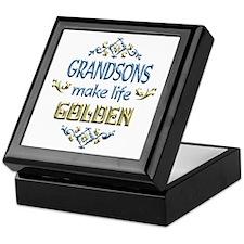 Grandson Sentiments Keepsake Box