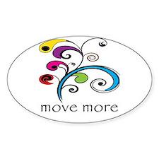 Move More! Bumper Stickers