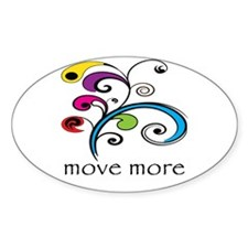 Move More! Stickers