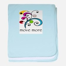 Move More! baby blanket