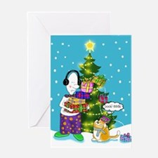 Xmas gift Greeting Card
