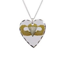 Gold Airborne Wings Necklace