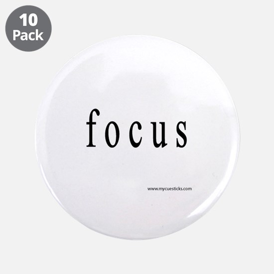 "Focus 3.5"" Button (10 pack)"