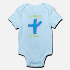 Mormon Cross Infant Bodysuit