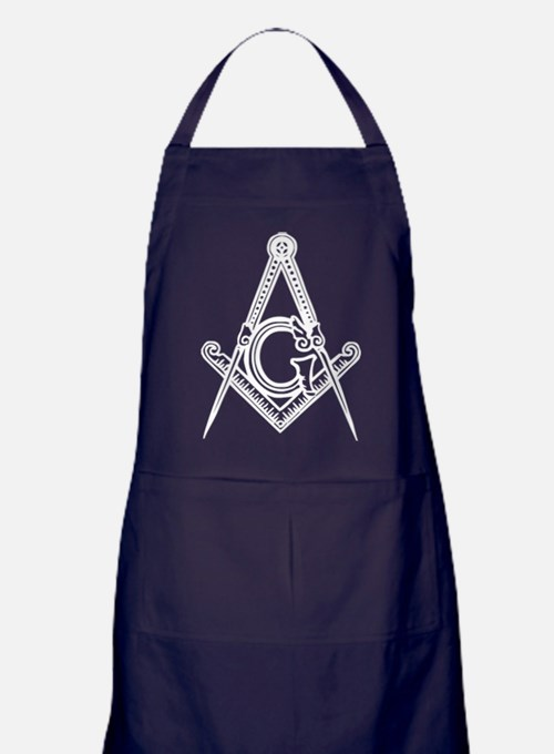 Masonic Square and Compass Apron (dark)