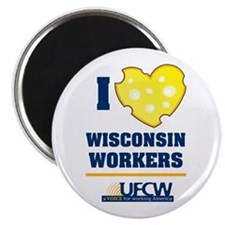 "Wisconsin UFCW 2.25"" Magnet (10 pack)"