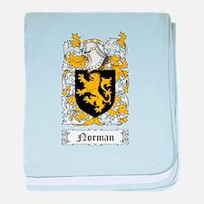 Norman II baby blanket