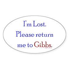 Return Me to Gibbs Decal