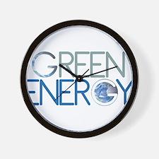 Green Energy Wall Clock