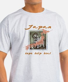 JAPAN RELIEF FOR THE LOST ANIMALS T-Shirt
