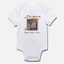 JAPAN RELIEF FOR THE LOST ANIMALS Infant Bodysuit