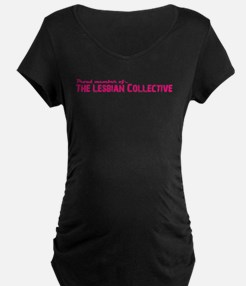 Lesbian Collective Maternity T-Shirt