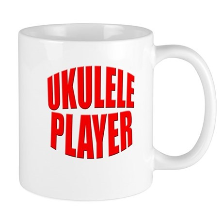 ukulele player Mug