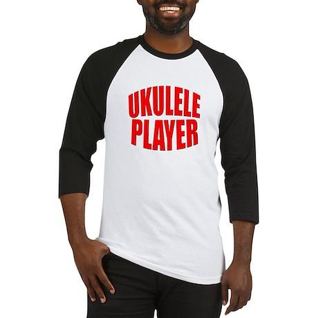 ukulele player Baseball Jersey