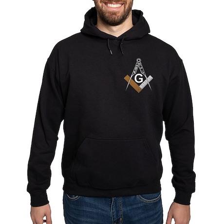 Masonic Square and Compass Hoodie (dark)
