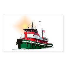 The Tugboat Ohio Decal