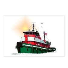 The Tugboat Ohio Postcards (Package of 8)
