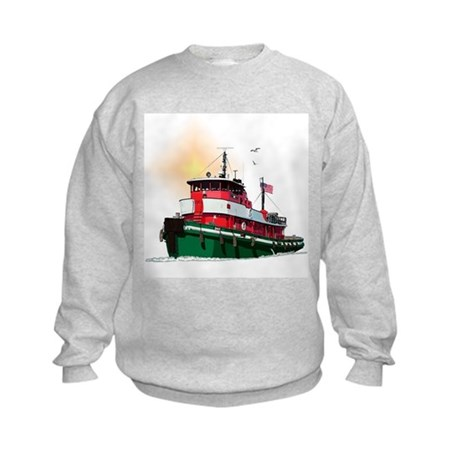 The Tugboat Ohio Kids Sweatshirt