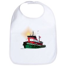 The Tugboat Ohio Bib