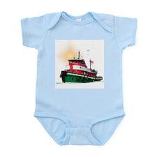 The Tugboat Ohio Infant Bodysuit
