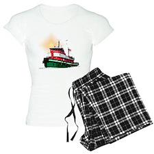 The Tugboat Ohio Pajamas