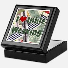 I Love Inkle Weaving Keepsake Box