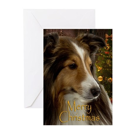 Sheltie Holiday Greeting Cards (Pk of 20)