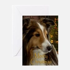 Sheltie Holiday Greeting Card