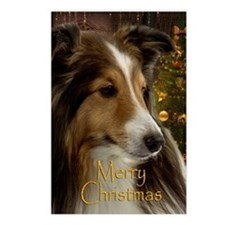 Sheltie Holiday Postcards (Package of 8)