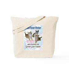 Feline Foster Mom Tote Bag