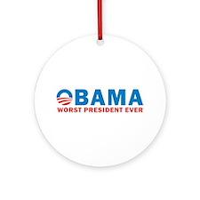 Worst Ever Ornament (Round)