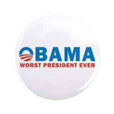 """Worst Ever 3.5"""" Button (100 pack)"""