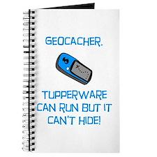 Geocacher Tupperware Journal