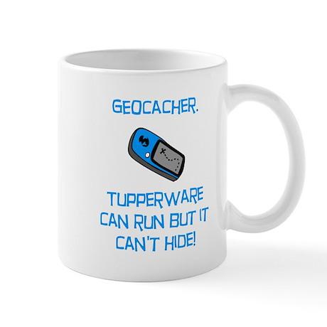 Geocacher Tupperware Mug
