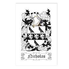 Nicholas Postcards (Package of 8)