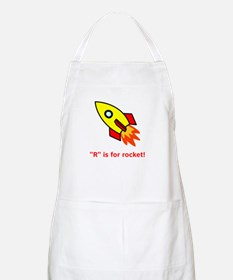 R Is For Rocket! Apron