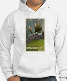 Michigan Hung Out To Dry Hoodie