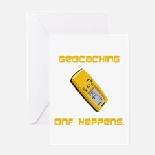 Geocaching DNF Happens! Greeting Card