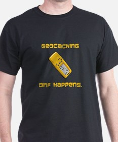 Geocaching DNF Happens! T-Shirt