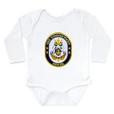 USS CONNECTICUT Long Sleeve Infant Bodysuit
